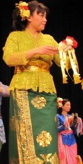 Rini Rodgers dancing