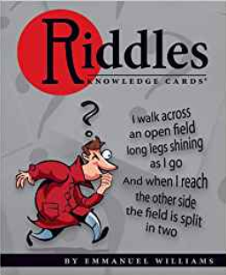 Riddles Knowledge Cards Quiz Deck by Emmanual Williams
